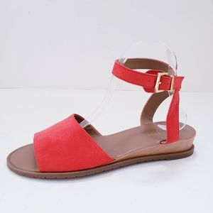Kenneth Cole Reaction Jaymee Coral &Tan Sandals
